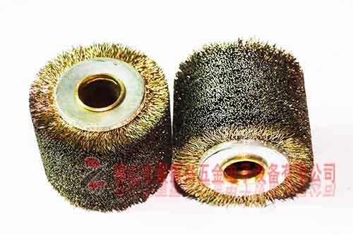 镀铜剥漆皮钢丝轮 脱漆钢丝轮 磨漆钢丝轮