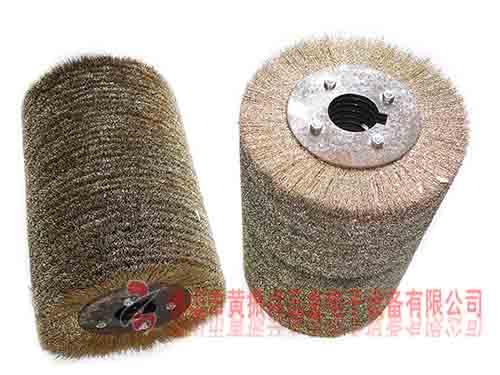 钢丝抛光滚筒刷 滚筒钢丝轮刷丝